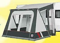 2020 Dorema Mistral 300 All Season Touring Caravan Porch Awning Grey
