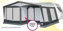 Load image into Gallery viewer, 2019 Dorema Royal 350 De Luxe Size 12 All Season Awning with 28mm frame & Panel