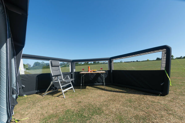 2020 Kampa Air Break 3 Inflatable Windbreak, 3 Panel