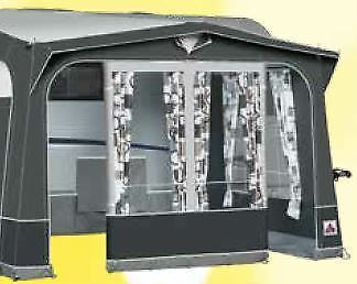 2020 Dorema Safari XL Touring Caravan Porch Awning with Alloy Frame