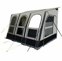 2019 Dorema Futura 330 Air All Season Touring Caravan Inflatable Porch Awning