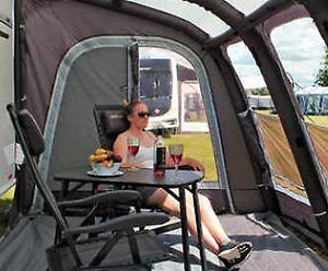 2019 Outdoor Revolution E-Sport Air 325 XL Inflatable Motorhome Awning