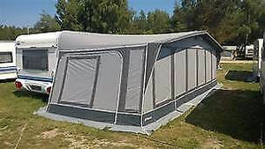 2019 Inaca Stela 300 Caravan Awning Size 1125cm, Steel Frame