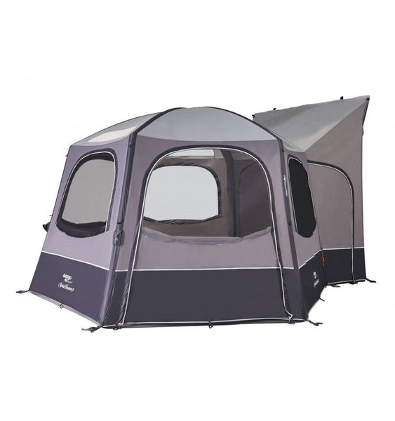 Airhub Hexaway II Tall (245-295cm) Inflatable Freestanding Motorhome Awning