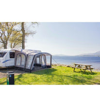 Load image into Gallery viewer, Vango Sonoma 400 Inflatable Caravan Awning with Side Mesh Door 2017 Clearance