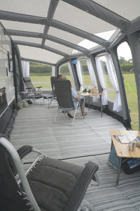 2019 Kampa Frontier Air Pro 400 Inflatable Caravan Porch Awning