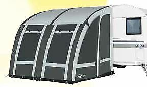 2019 Starcamp Magnum Air 260 Weathertex Touring Inflatable Caravan Awning Blue