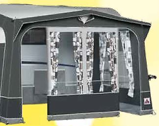 2019 Dorema Safari XL Touring Caravan Porch Awning with Steel Frame