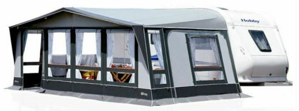 2020 Inaca Stela 300 Caravan Awning Size 1075cm, Steel Frame