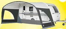 Load image into Gallery viewer, 2019 Dorema Mondial Sun Canopy for Caravan Size 16 (1025-1050cm) steel frame