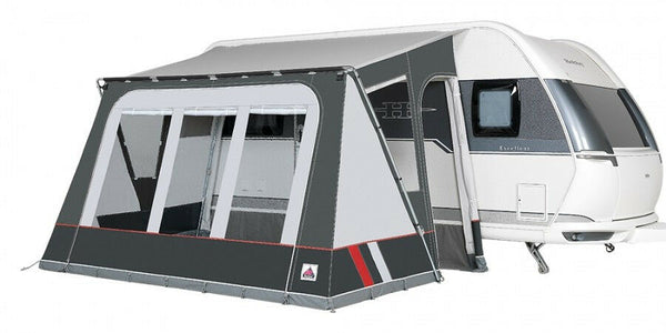 2020 Dorema Mistral XL 360 All Season Touring Caravan Porch Awning Grey