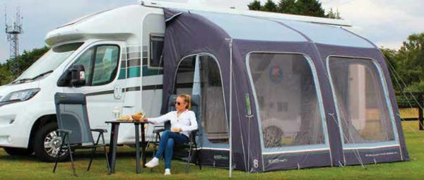 2020 Outdoor Revolution E-Sport Air 325 L Inflatable Motorhome Awning