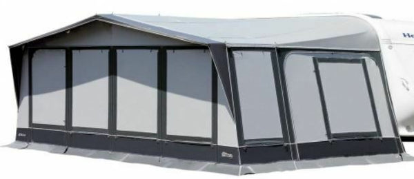 2020 Inaca Stela 350 Caravan Awning Size 1225cm, Steel Frame