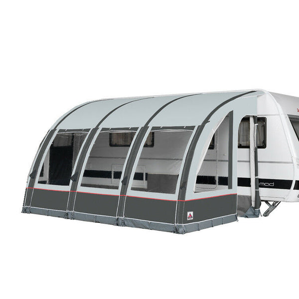 2020 Dorema Magnum Air All Season 390 Touring Inflatable Caravan Porch Awning Grey