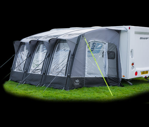 2018 Royal Armscote 390 Air Inflatable Caravan Porch Awning