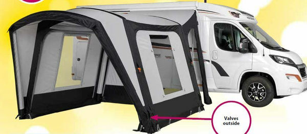 2019 Starcamp Discovery Air Freestanding Inflatable Motorhome Awning (240-270cm)