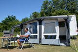 2019 Kampa Club Air Pro 390 Plus Right Inflatable Caravan Porch Awning