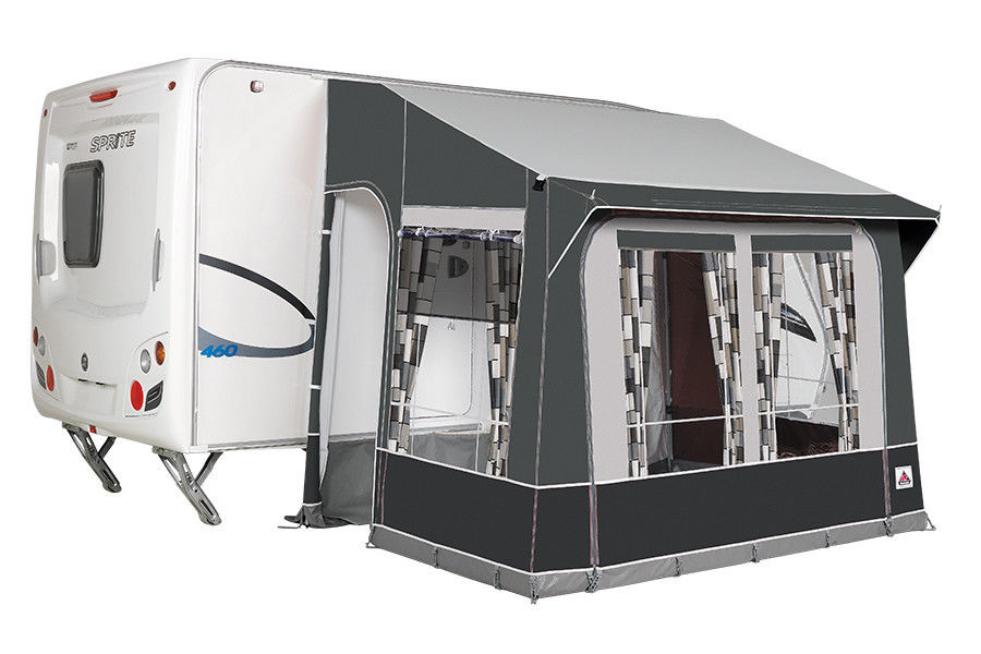2019 Dorema Quattro 225 All Season Caravan Porch Awning Grey Alloy Frame