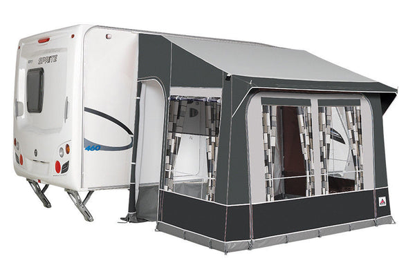 2020 Dorema Quattro 225 All Season Caravan Porch Awning Grey Alloy Frame