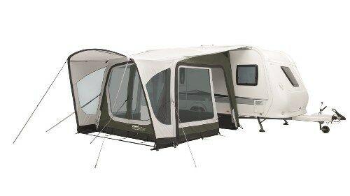 Outwell Amber 300sa Inflatable Caravan Porch Awning PACKAGE DEAL!! includes Roof Lining & Carpet