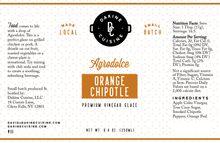 Load image into Gallery viewer, Orange Chipotle Agrodolce