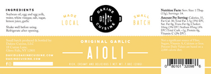 Original Garlic Aioli