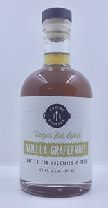 Vanilla Grapefruit Bar Syrup