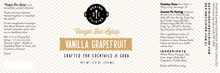 Load image into Gallery viewer, Vanilla Grapefruit Bar Syrup