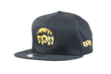 First Priority Music-Premium New Era 9FIFTY Snapback Hat Black-Top Billin - firstprioritymusic