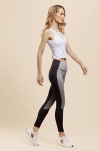 High-Waist Soft Stone Leggings