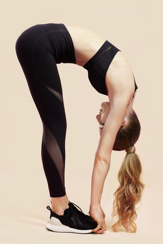 High-Waist Midnight Black Leggings