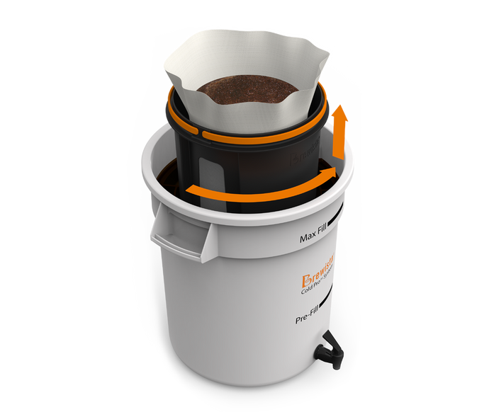 Brewista Cold Pro™ Eliminates the Mess and Waste of Cold Brew Coffee Preparation