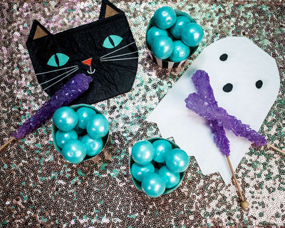 Halloween Cat and Ghost Party Napkins