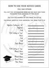 2020 Graduation Party Game Printables (Set of 3 Digital Files)