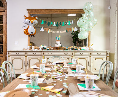 Woodland Adventure Party Decor and Supplies