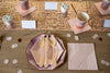 Purple and Rose Gold Party Plates and Utensils
