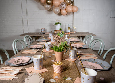 Boho Chic Party Place Settings
