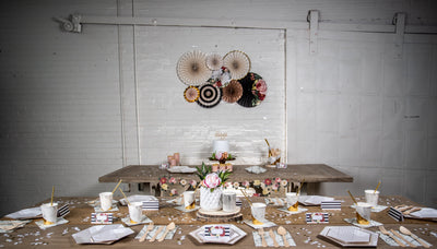 Botanical Party Tableware and Decor