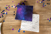 Space Party Napkins with Confetti