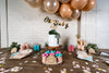 Chic Desert Rose Baby Shower Dessert Table