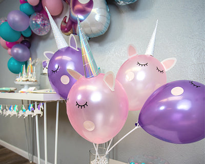 DIY unicorn balloon activity party kit
