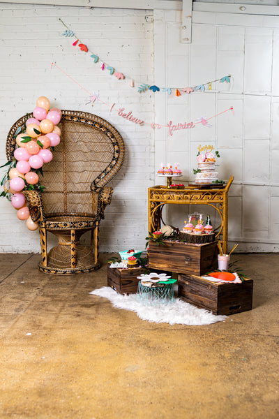 Enchanted Garden Fairy Party Decor