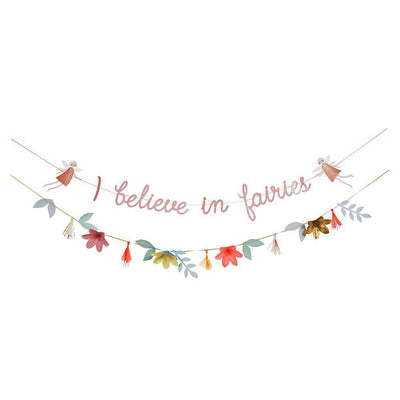 I Believe in Fairies Floral Garland Kit