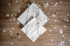 Marble and Gold Foil Party Napkins