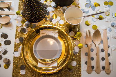 New Years Eve Party Table Setting