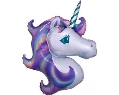 jumbo unicorn mylar party balloon