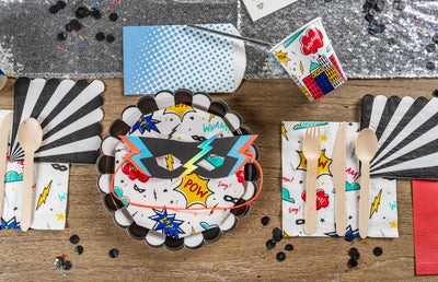 Super Hero Party Tableware