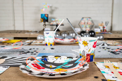 Super Hero Party Tableware and Decor