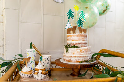 Woodland Adventure Party Dessert Table