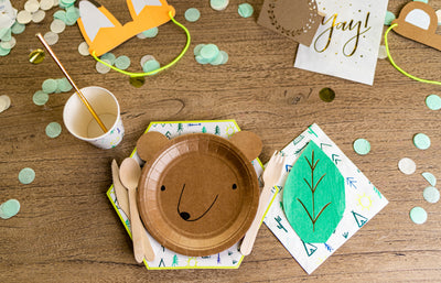 Woodland Adventure Party Tableware
